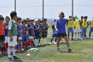 サッカー教室&特別講演会
